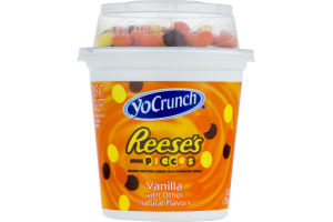 YoCrunch Lowfat Vanilla Yogurt Reese's Pieces