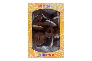 Печиво здобне пісочно-відсадне Кавове Бом-Бік к/у 0.45кг