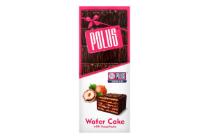 Торт вафельний глазурований Фундук Polus к/у 220г