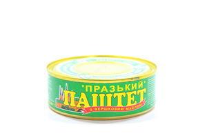 Паштет ОПК Празький з вершковим маслом 240г х48