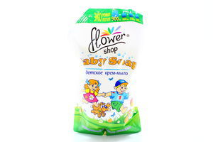 Крем-мыло жидкое детское Flower Shop 900мл