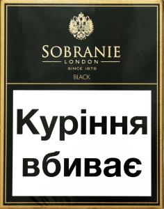 Сигарети Sobranie Black
