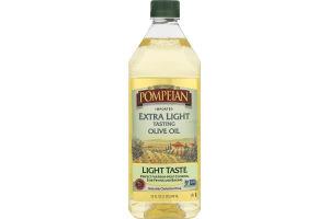 Pompeian Imported Extra Light Tasting Olive Oil Light Taste