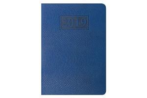 Ежедневник дат. 2019 AMAZONIA, A5, 336 стр., синий