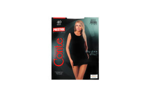 Колготки жіночі Conte elegant Prestige №8С-45СП 40den 3-M nero