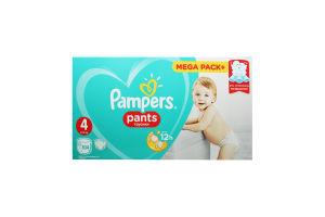 Підгузники-трусики дитячі Pampers Pants Maxi 104