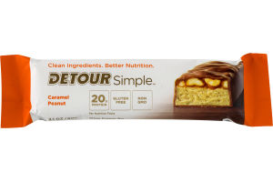 Detour Simple Whey Protein Bar Caramel Peanut