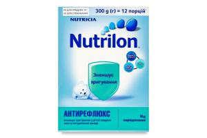 Суміш молочна суха для дітей від народження Антирефлюкс Nutrilon к/у 300г