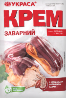 Крем с натуральным порошком какао Заварной Украса м/у 75г