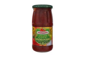 Cоус томатный Краснодарский фирменный с овощами Помідора с/б 450г