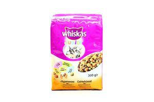 Корм с курицей для котят и кормящих кошек Wiskas 300г