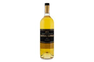 Вино 0.75л 13.5% біле сухе Sauternes Chateau Guiraud пл