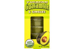 Yucatan Guacamole Singles - 6 CT