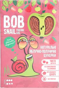 Конфеты натуральные яблочно-клубничные Bob Snail к/у 60г