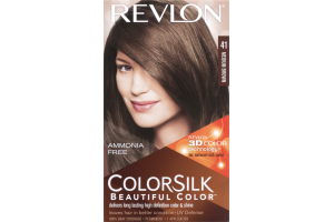 Revlon ColorSilk Beautiful Color Permanent 41 Medium Brown