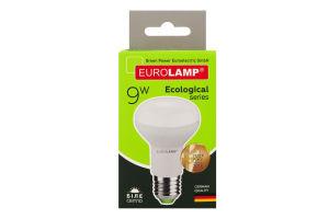 Лампа светодиодная 4000K 720lm 9W E27 R63 Eurolamp 1шт