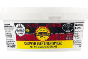 Real Kosher Chopped Beef Liver Spread