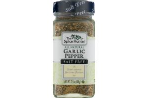 The Spice Hunter Garlic Pepper Salt Free