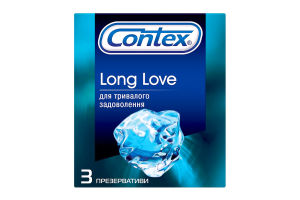 Презерватив Contex Long love 3шт