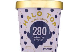 Halo Top Light Ice Cream Black Cherry
