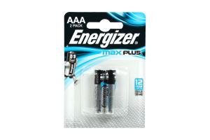 Батарейка ENERGIZER AAA Max Plus 2шт.