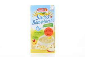 Мюслі Familia дитячі органічні з фрукт Яблуко-банан 250г х6