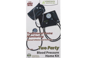 Veridian Healthcare Two Party Blood Pressure Home Kit