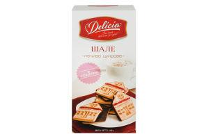 Печиво Delicia цукрове Шале з глазур`ю 190г