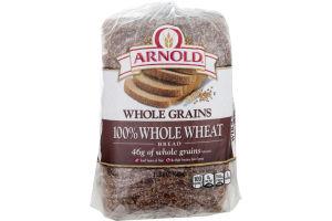 Arnold Whole Grains Bread 100% Whole Wheat