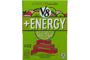 V8 + Energy Kiwi Melon - 4 PK