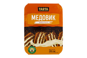 Торт бісквітний Медовик Tarta п/у 290г