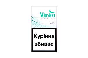 Сигареты Winston Super Slims Fresh Mentol 20шт