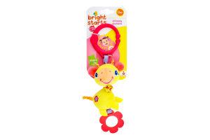 Іграшка для дітей від 0міс підвісна з вібрацією №52073 Яскраві звірятка Bright Starts 1шт