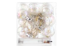 Гірлянда на батарейках LED 10 ламп №850127 Taizhou City Yasheng Lamps 1шт
