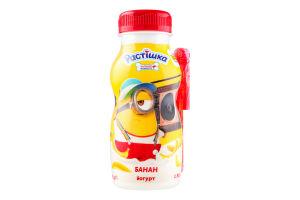 Йогурт 1.5% Банан Растішка п/пл 185г