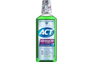 ACT Advanced Care Plaque Guard Antigingivitis/Antiplaque Mouthwash