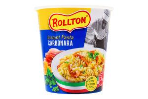 Изделия макаронные быстрого приготовления Carbonara Rollton ст 70г