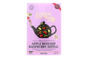 Чай трав. English Tea Shop яблоко-шипов-малина орг