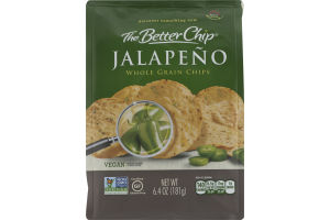 The Better Chip Jalapeno Whole Grain Chips