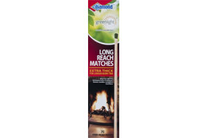 Diamond Greenlight Long Reach Matches - 75 CT