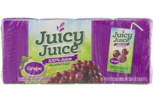 Juicy Juice 100% Juice Boxes Grape - 8 PK