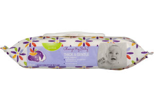 Always My Baby Baby Wipes Thick & Gentle Scented - 72 CT