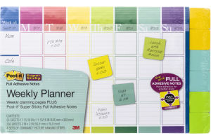 Post-it Notes Super Sticky Weekly Planner