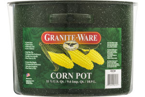 Granite Ware Corn Pot