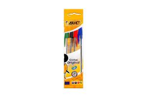 Ручка кулькова Cristal Original BIC 4шт
