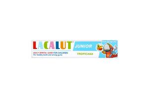 Зубная паста для детей с 8лет Тropicana Junior Lacalut 75мл