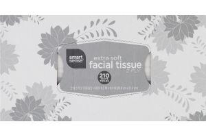 Smart Sense Extra Soft Facial Tissue White - 210 CT