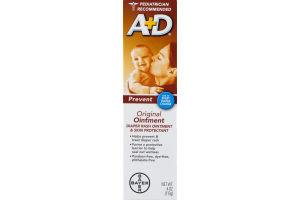 A+D Original Diaper Rash & Skin Protectant Ointment