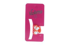 Заколка-краб для волос №124275 Violetta 1шт