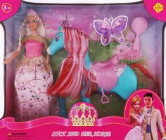Набір іграшковий для дітей від 3років №8209 Lucy and her horse Defa 1шт